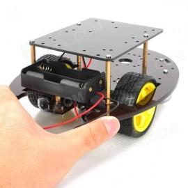 Smart car chassis  pack with box  2wd line follower