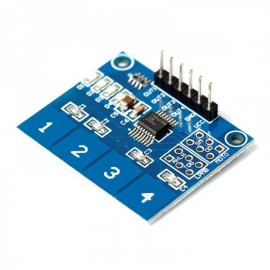 TTP224 Touch Module 4 Channel